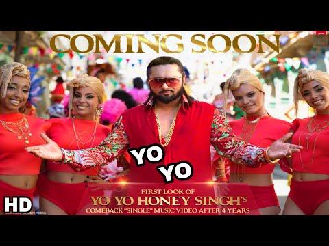 Yo Yo Honey Singh ' Single ' Video Song First Look, Honey Singh Upcoming biggest song First look