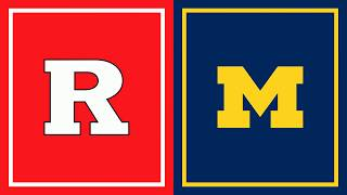 First Half Highlights: Michigan at Rutgers | Big Ten Basketball
