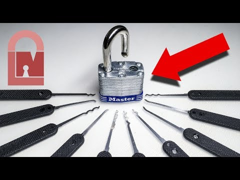 (225) How To Pick Your First REAL Lock
