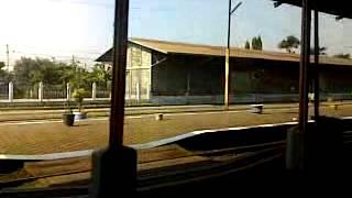 Argo Lawu Lepas Stasiun Klaten (Argo Lawu Leaving Klaten)