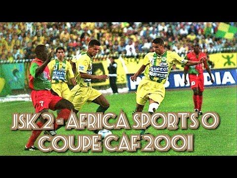 JSK vs Africa Sports (Résumé+Déclarations+Ambiance) 2001