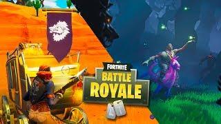 Secret Challenge of The Week 2 Battle Pass 6 - Fortnite: Battle Royale