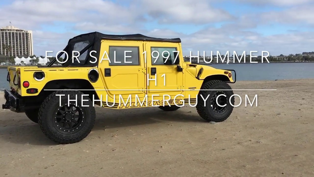 1997 hummer h1 for sale youtube 1997 hummer h1 for sale vanachro Gallery