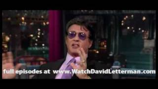 Sylvester Stallone in Late Show with David Letterman 2010-07-19