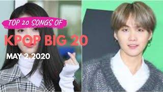 Top 20 K-Pop Songs Chart | KPOP Big 20 | May 8,2020