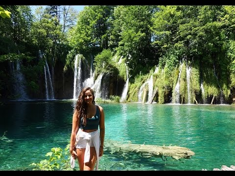 The magical Plitvice Lakes National Park, Croatia