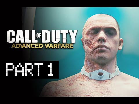 Call of Duty: Advanced Warfare Walkthrough Part 1 - Atlas Corporation (PS4 Gameplay Commentary)