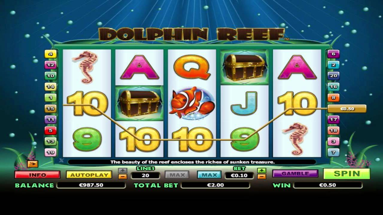 Dolphin Reef Slot Free Online
