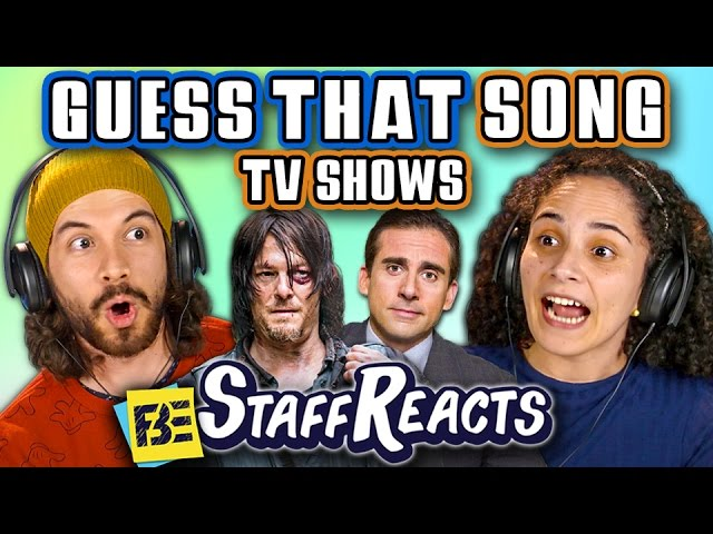 GUESS THAT SONG CHALLENGE: TV SHOWS! (ft. FBE STAFF)