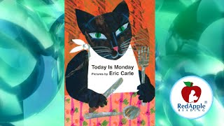 Gambar cover Read Aloud - Today is Monday - by Eric Carle