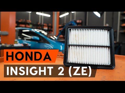 Как заменить воздушный фильтр двигателя на HONDA INSIGHT 2 (ZE) [ВИДЕОУРОК AUTODOC]