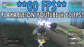 [60 FPS] PCSX2 Emulator 1.3.0 | Mobile Suit Gundam: Federation vs. Zeon [1080p HD] | Sony PS2