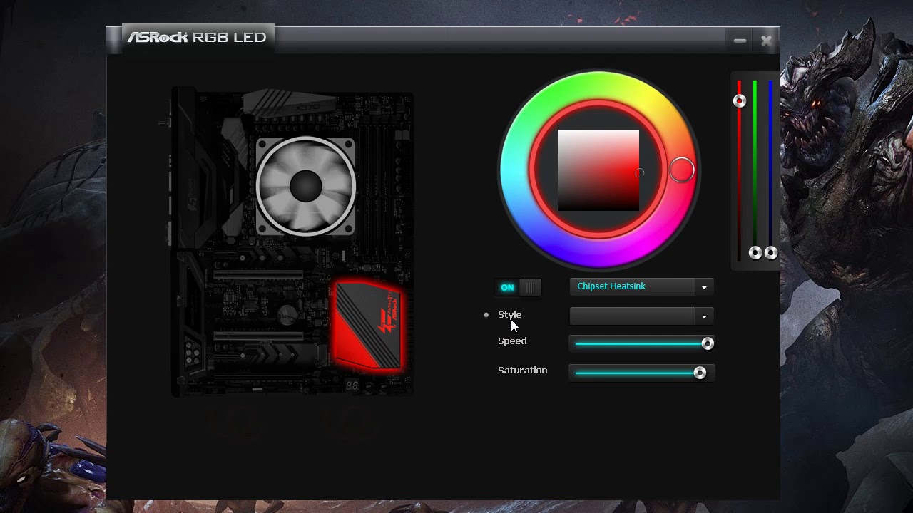 Broken ASRock RGB LED Software