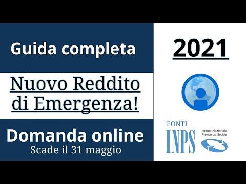 REDDITO di EMERGENZA 2021 - Come fare la DOMANDA