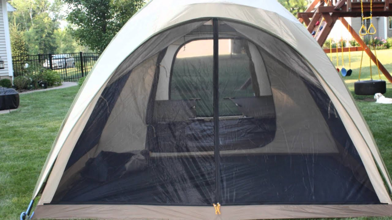 & LL Bean King Pine 6 Tent - YouTube