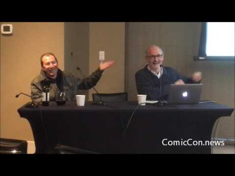 V For Vendetta Co-Creator & Artist David Lloyd retrospective  panel at MoCCA 4/2/17