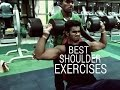 Best SHOULDER Exercises to Build Muscle