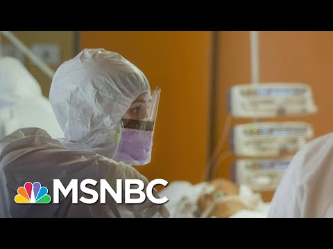 Mt. Sinai Brooklyn Chief Describes Surges Past Normal Hospital Capacity | Andrea Mitchell | MSNBC