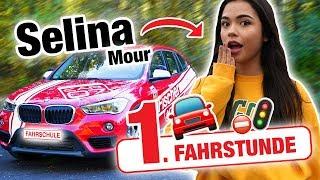 Erste Fahrstunde mit Selina Mour 🤯 | Fischer Academy