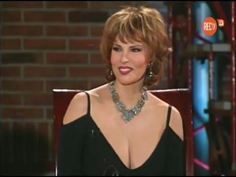Raquel Welch en Noche de ronda, UCTV Chile 1996.
