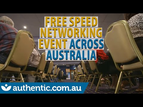 Free Speed Networking Event in Sydney, Melbourne, Brisbane, Gold Coast, Adelaide