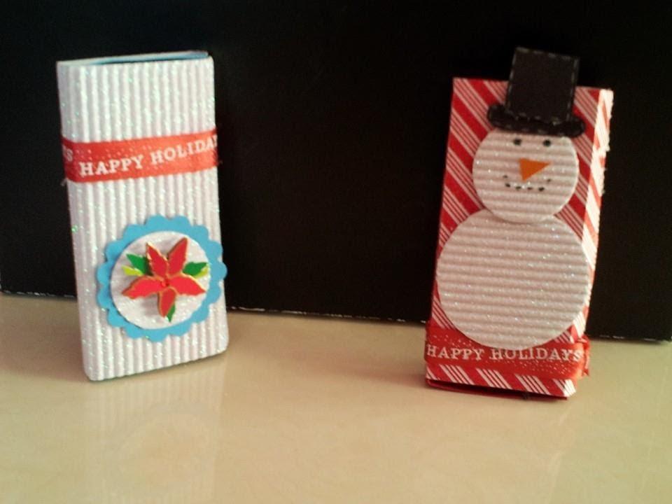 Especial de navidad 2013 cajitas para regalar chocolates for Detalles de navidad