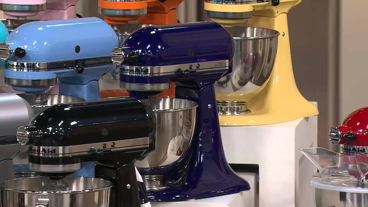 Kitchenaid 4 5qt 300w Tilt Head Stand Mixer With Flex