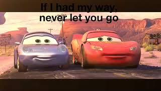 """Cars 1 """"2006"""" best scene lightnimg mcqueen"""