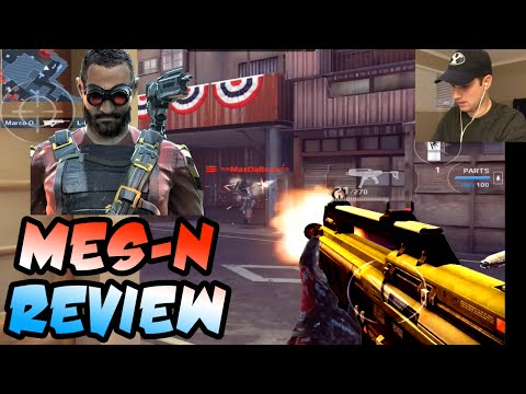 Modern Combat 5 MESN Review  Sapper Tier 2 Weapon Gameplay MC5 Update