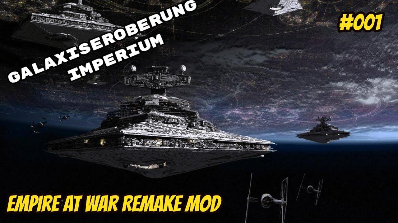 Und es beginnt | Let´s Play Star Wars Empire at War Remake Mod | #001