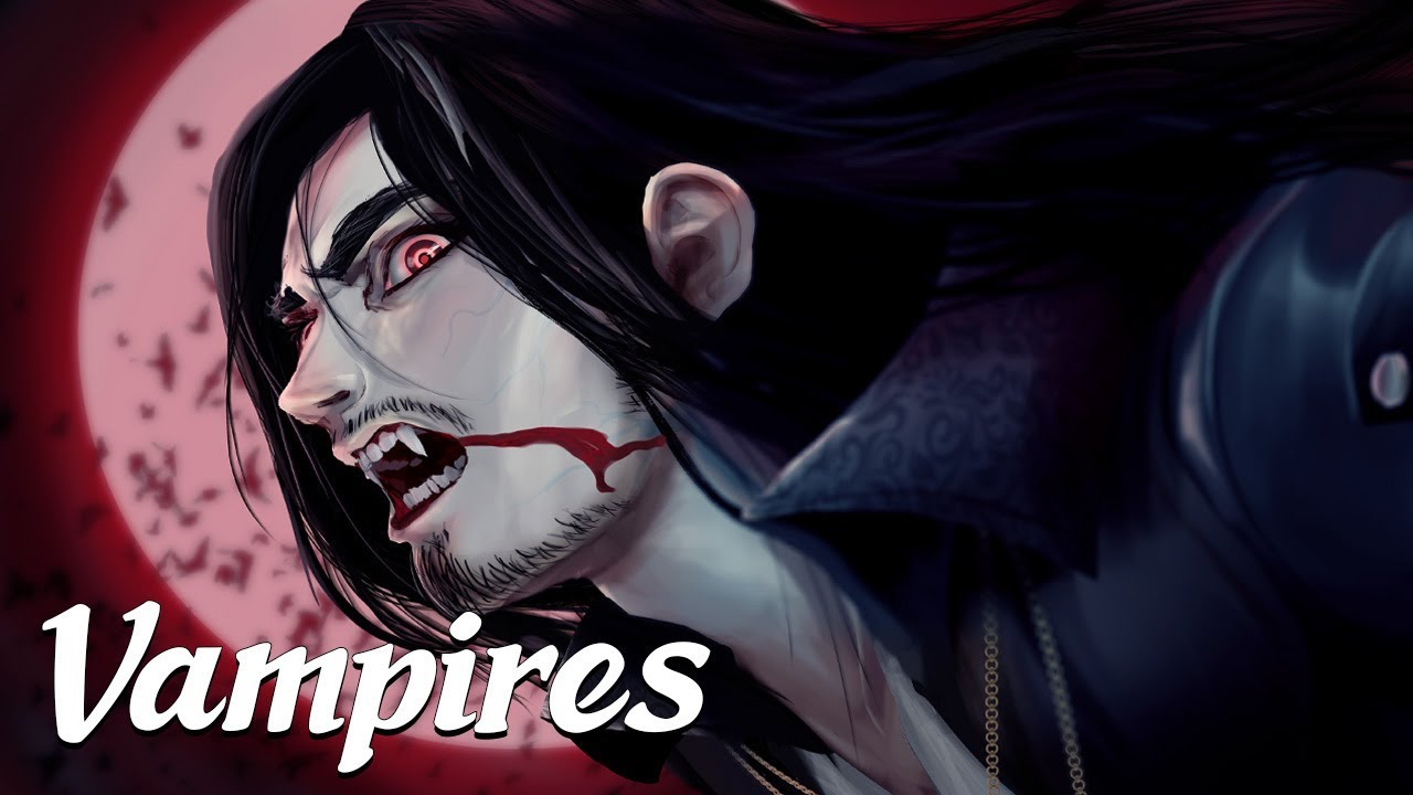 Vampires (Mysterious Legends & Creatures #4)