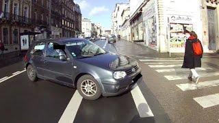 Vélo à Rouen : Question de priorité