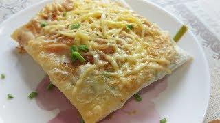 Быстрый Завтрак  из Лаваша на Скорую Руку.
