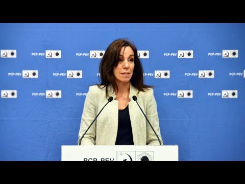 Heloísa Apolónia: Acto Público CDU