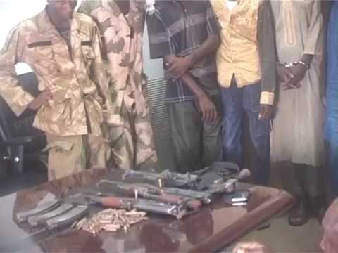 Nigerian Police Force Parades Suspects Of The Kidnap Of S/Leone Diplomat