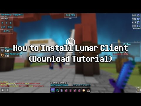 Lunar Client RELEASE! How To Install + How To Download! (Official Download & Setup) CheatBreaker V2