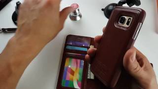 galaxy s7 amovo wallet case w detachable magnetic shell review the good bad