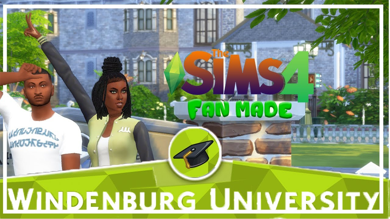 WINDENBURG UNIVERSITY REVIEW THE SIMS 4 MODS YouTube