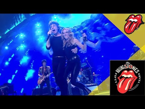 The Rolling Stones & Sheryl Crow - All Down the Line - Live in Chicago