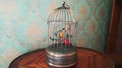 Singvogelautomat/ Karl Griesbaum/ Singing bird cage