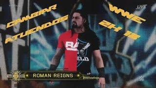 WWE 2K 18 -CÓMO CAMBIAR DE ATUENDOS A LOS PERSONAJES-