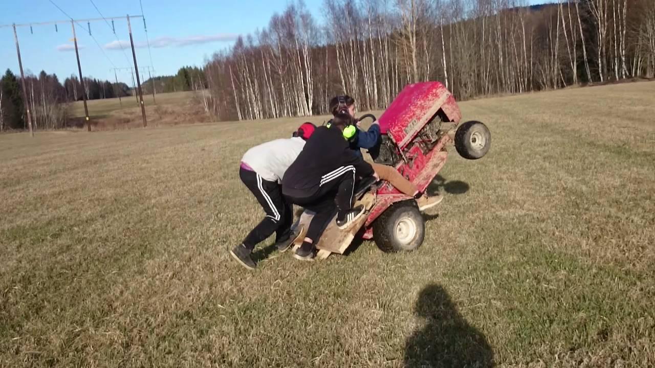 Åker gräsklippare - YouTube : åkergräsklippare : Inredning