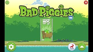 Bad Piggies. Ground Hog Day (level 1-8) 3 stars Прохождение от SAFa