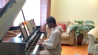 Jordan Plays Bach Prelude