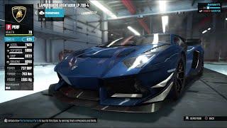 The Crew Customization Lamborghini Aventador + Test drive in the open world!