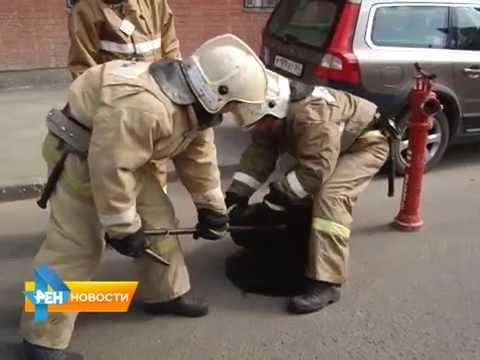 Сотрудники МЧС искали неисправный пожарный гидрант