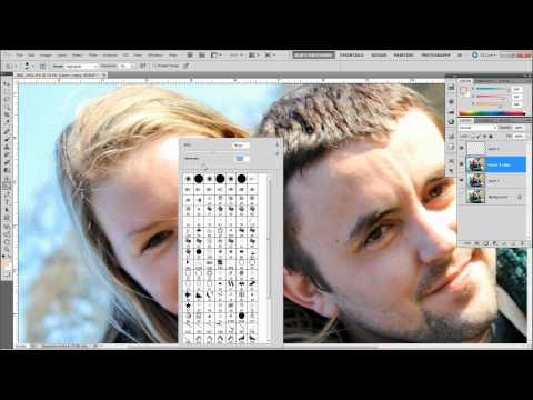 How To Fix Blown Out Skin - Photoshop Tutorial