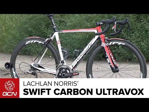Lachlan Norris' Drapac Swift Carbon Ultravox RS-1