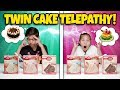 TWIN TELEPATHY CAKE CHALLENGE!!! Brother VS. Sister Bake Off!