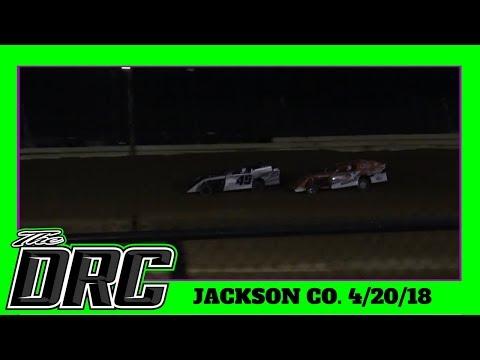 Jackson County Speedway | 4/20/18 | Open Wheel Modifieds